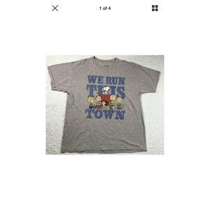 "PEANUTS ""We Run This Town"" T-Shirt"